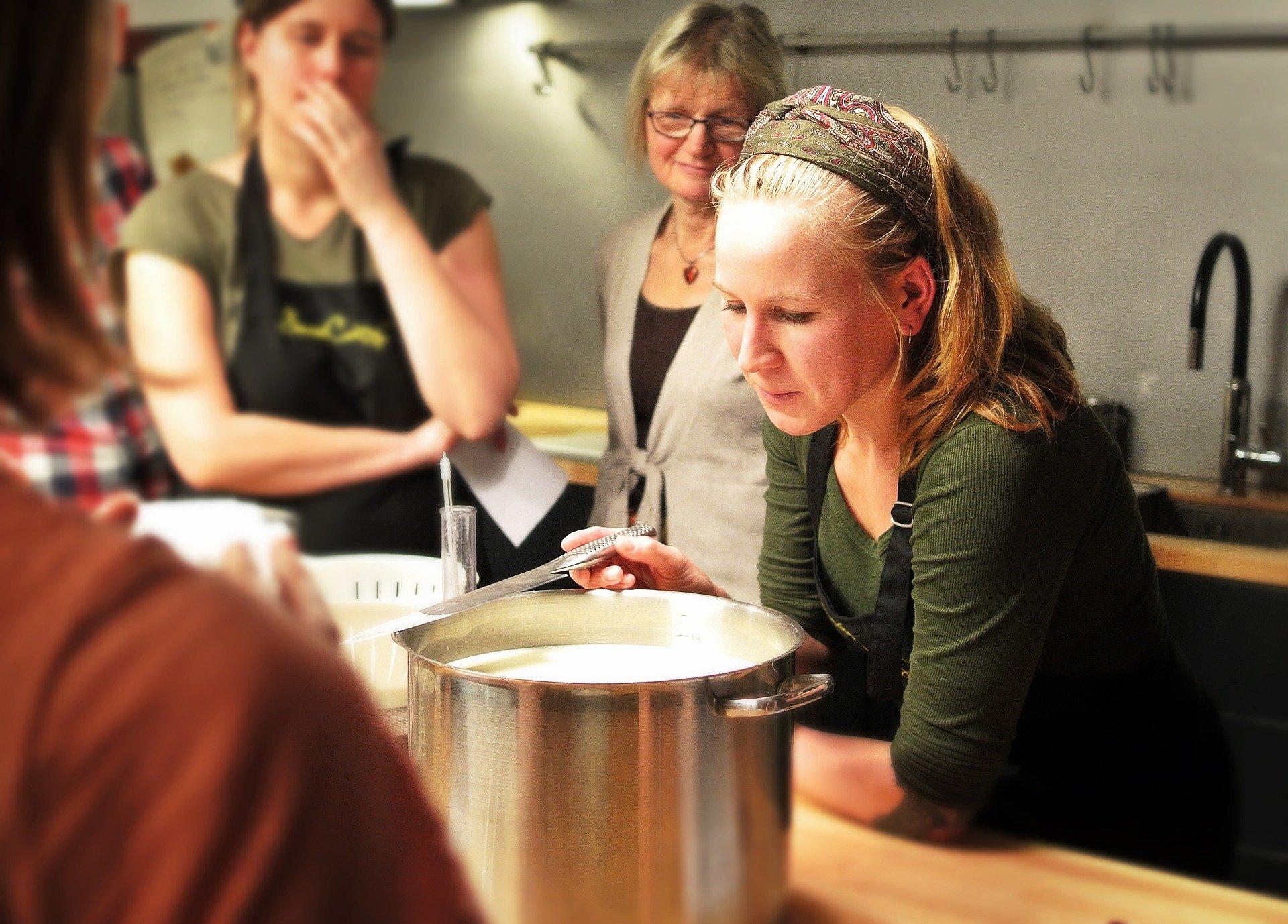 corso gruppo in cucina