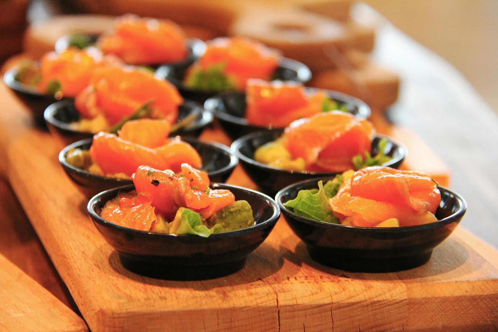 terrine salmone