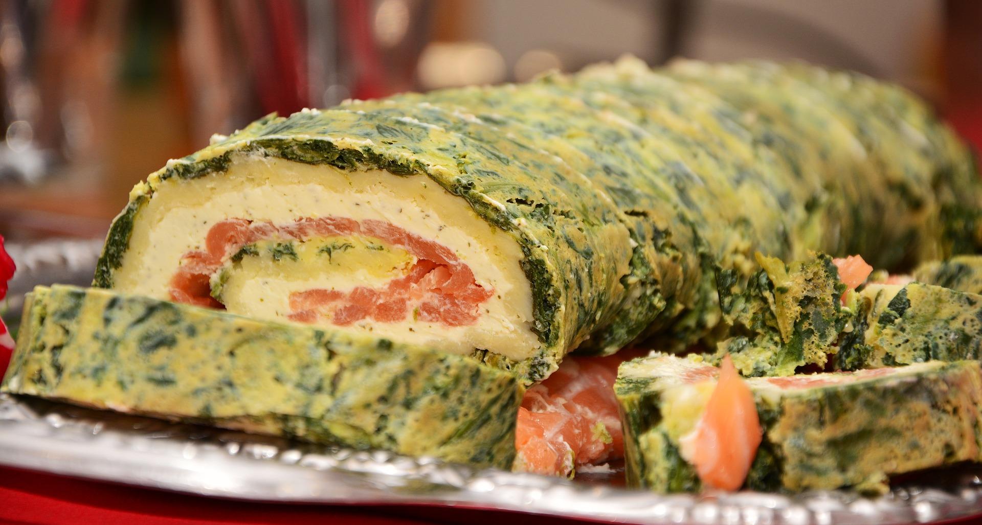 roll salmone